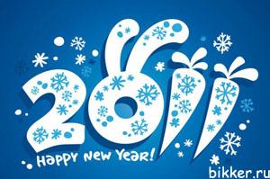 Блоггеры с Новым Годом